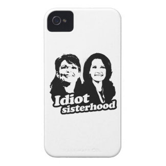 Idiot Sisterhood - Palin and Bachmann.png Case-Mate iPhone 4 Case