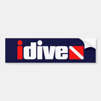 idive bumper sticker