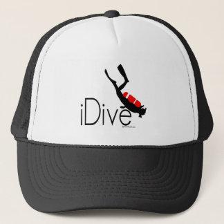 idive trucker hat