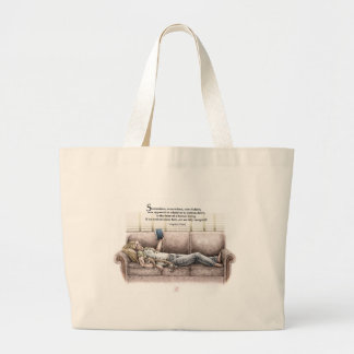 Idle Moment Large Tote Bag