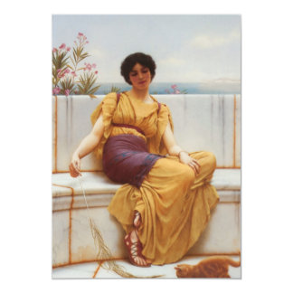 Idleness Fine Art 13 Cm X 18 Cm Invitation Card