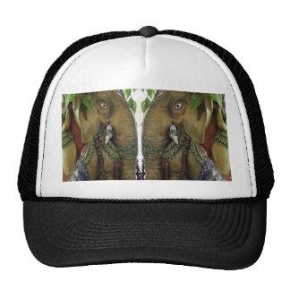 Idol Ganapati Ganesh Kalash Spiritual Elephant fun Hats