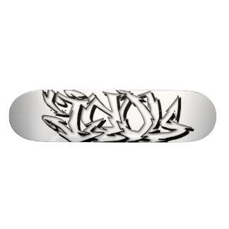 Idol Graffiti Skateboard Design