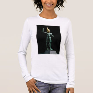 Idol of the storm god Baal, from Syria, Bronze Age Long Sleeve T-Shirt