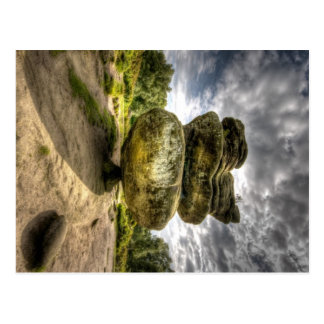 Idol Rock at Brimham Rocks Postcard