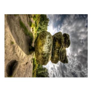 Idol Rock at Brimham Rocks Postcard