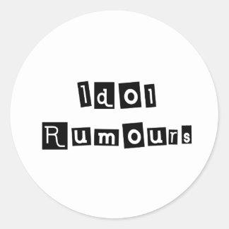 Idol Rumours Classic Round Sticker