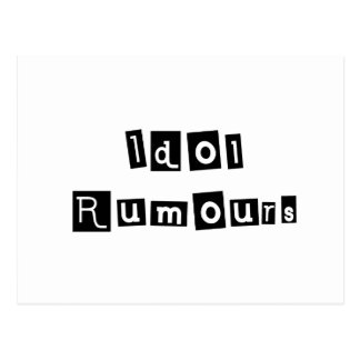 Idol Rumours Postcard
