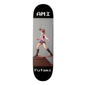 IDOLM@STER: AMI FUTAMI 18.1 CM OLD SCHOOL SKATEBOARD DECK