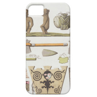 Idols of the Caribbeans (colour engraving) iPhone 5 Case