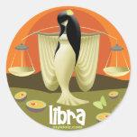 Idolz Libra Circle Round Sticker