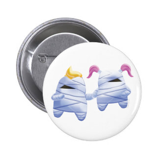 Idolz Monsters Tut & Tess 6 Cm Round Badge