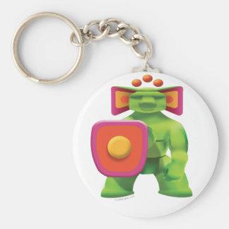 Idolz Totemz Jabr Basic Round Button Key Ring