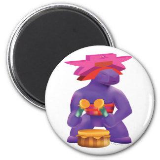 Idolz Totemz Kaz 6 Cm Round Magnet