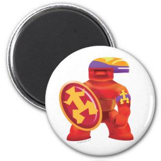 Idolz Totemz Tux 6 Cm Round Magnet