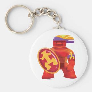 Idolz Totemz Tux Basic Round Button Key Ring