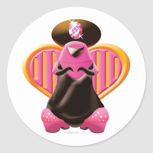 Idolz Xagans Pank Round Sticker