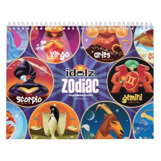Idolz Zodiac Circle Calendar