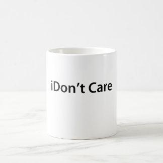 iDon't Care Coffee Mug
