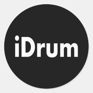 iDrum Classic Round Sticker