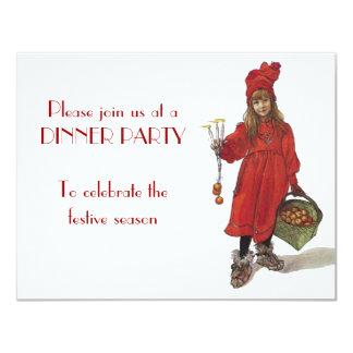 Iduna and The Magic Apples 11 Cm X 14 Cm Invitation Card