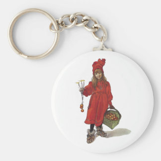 Iduna and The Magic Apples Basic Round Button Key Ring