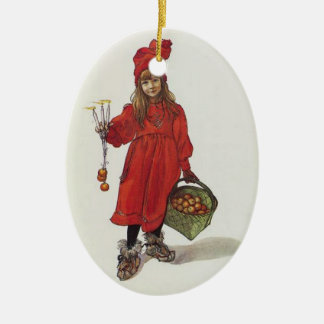 Iduna and The Magic Apples Ceramic Oval Decoration