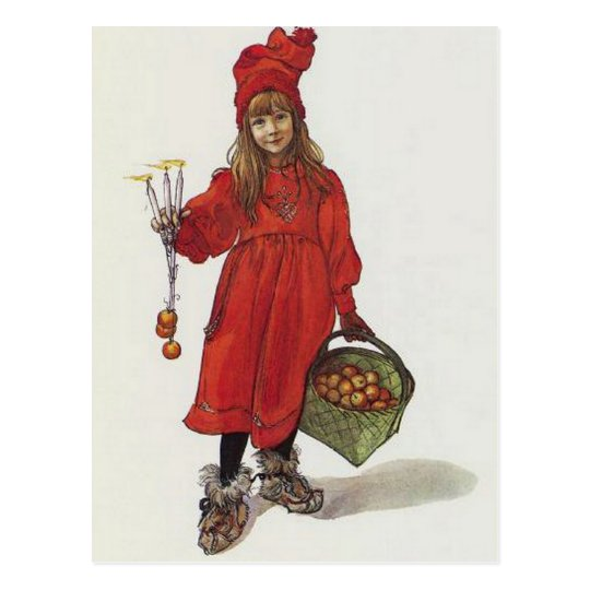 Iduna and The Magic Apples Postcard