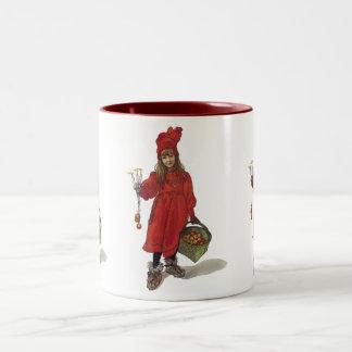 Iduna and The Magic Apples Two-Tone Mug