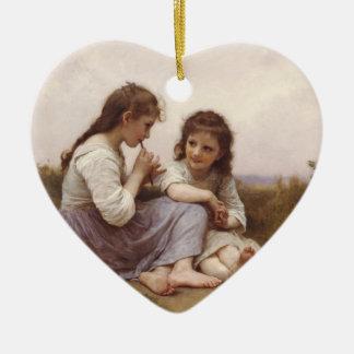 Idylle Enfantine (A Childhood Idyll) Christmas Ornament