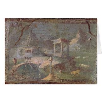 Idyllic Landscape, from Herculaneum, Card