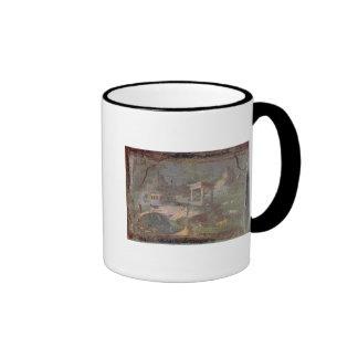 Idyllic Landscape, from Herculaneum, Coffee Mugs