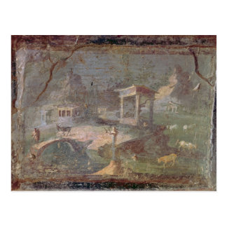 Idyllic Landscape, from Herculaneum, Postcard