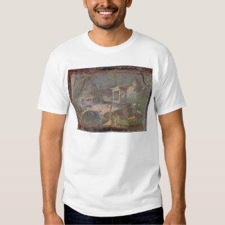 Idyllic Landscape, from Herculaneum, Tshirts
