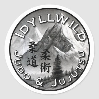 Idyllwild Judo and Jujutsu Round Sticker