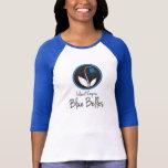 IE Blue Belles colour block tee