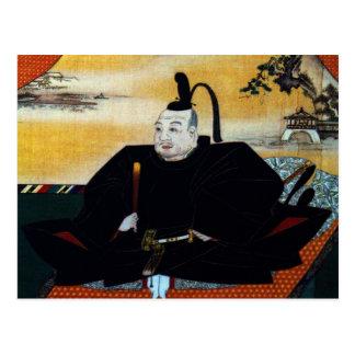 Ieyasu Tokugawa Postcard