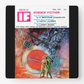IF1967-04_Pulp Art Wall Clock