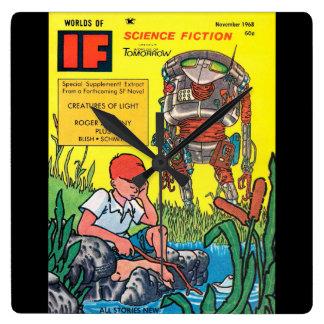 IF_1968-11_Pulp Art Wall Clock