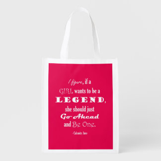 If A Girl Wants To Be A Legend