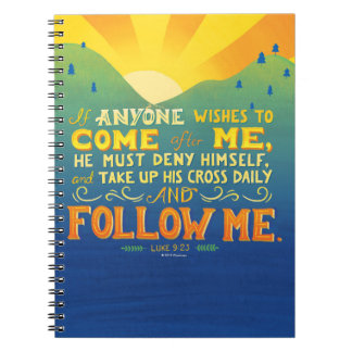 If Anyone Wishes to Come After Me Notebook