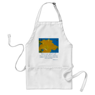 If Anything is Excellent or Praiseworthy Standard Apron