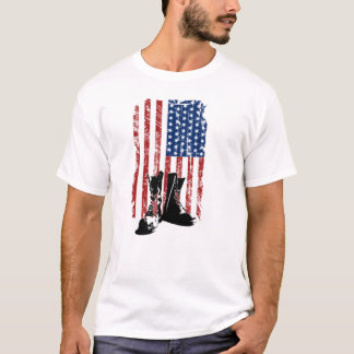 If Boots Could Talk Veterans Day T-Shirt