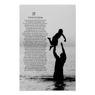 If by Rudyard Kipling 11 X 17 Poster