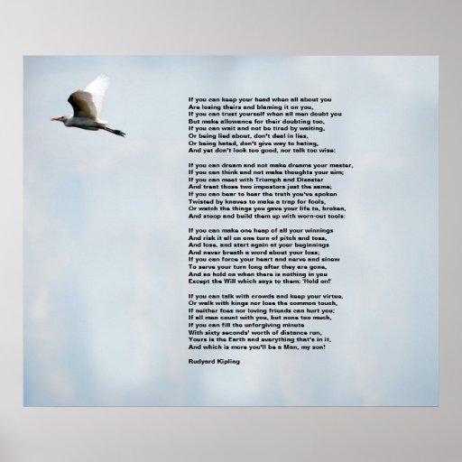 If by Rudyard Kipling Print