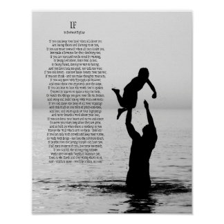 If by Rudyard Kipling Poster 11 X 14