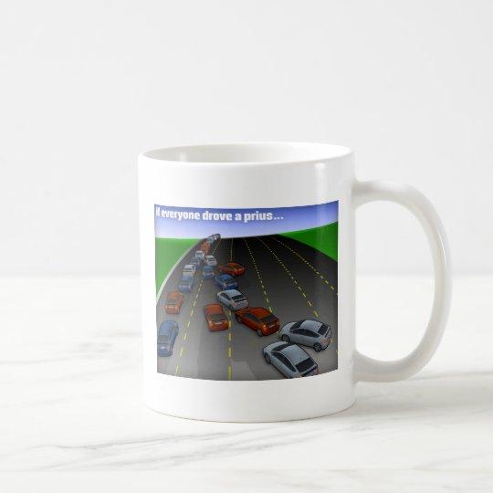 if everyone drove a prius coffee mug