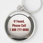 If Found, Call... Keychain