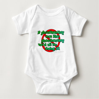 If ghosthunting was like ghostbusting we'd all... baby bodysuit