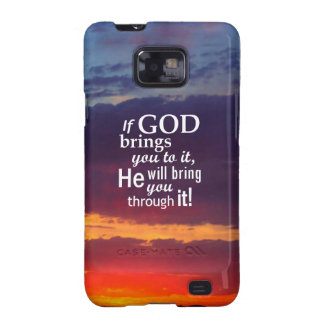 If GOD Brings you To It Galaxy SII Cases